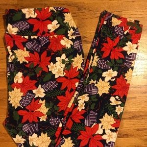 TC Vintage Christmas 2019 LuLaRoe Leggings